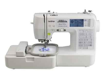 Brother LB6800PRW Limited Edition Sewing And Embroidery Machine