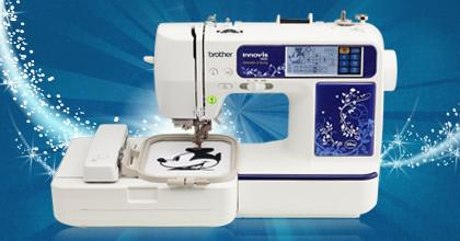 Brother Innov-is 990D Sewing & Embroidery Machine - With Disney Designs