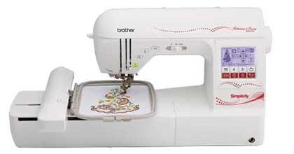 Brother Simplicity SB8000 Sewing and Embroidery Machine