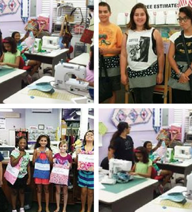 Kids Sew Camp-Four Days of Sewing Fun! -Ages 10+