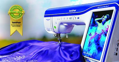 Brother Dream Machine 2 XV8550D Sewing, Quilting, & Embroidery Machine