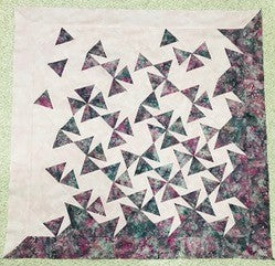 QUILTING 101 - Tumbling Triangles Quilt