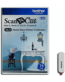 Brother ScanNCut Home Deco Pattern designs-USB