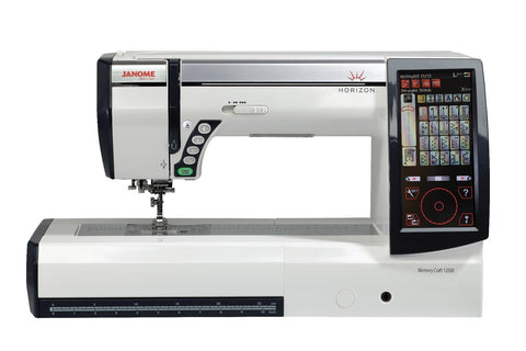 Janome Horizon Memory Craft 12000 Sewing, Quilting and Embroidery Machine