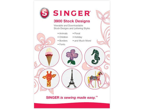SINGER 3900 DIGITIZED EMBROIDERY DESIGNS