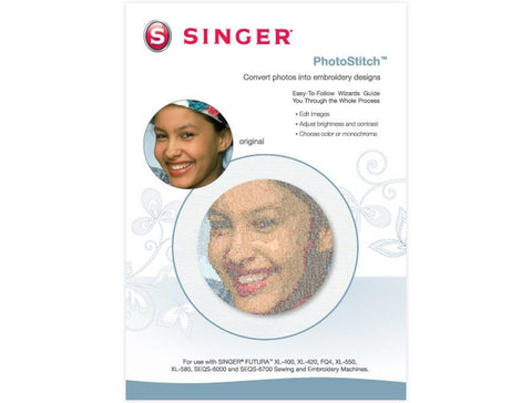 SINGER FUTURA™ PHOTOSTITCH™ SOFTWARE
