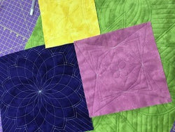 WESTALEE FREE MOTION CLASSES-QUILT AS YOU GO JEWEL BOX QUILT