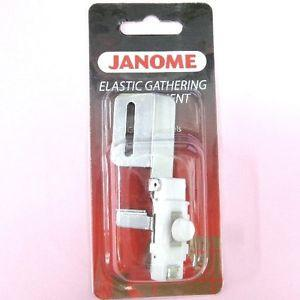 Janome Elastic Gathering Attachment-Narrow (CoverPro)