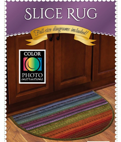 Jelly Roll Slice Rug