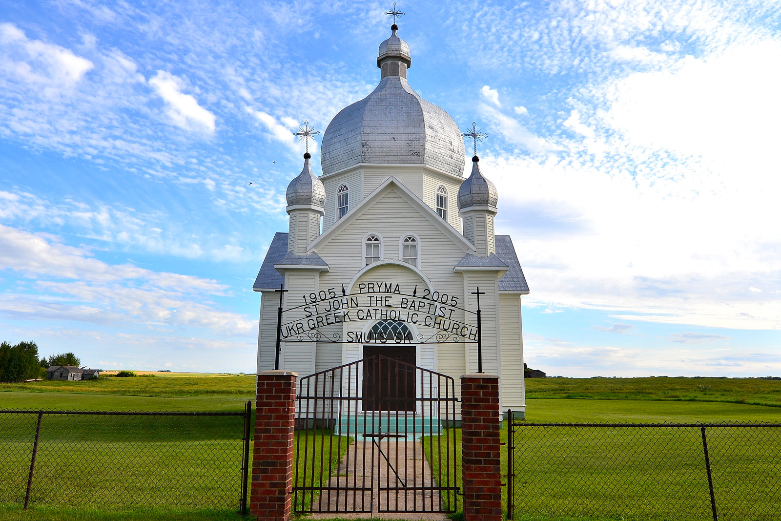 The Ukrainian Churches of the Canadian Prairies
