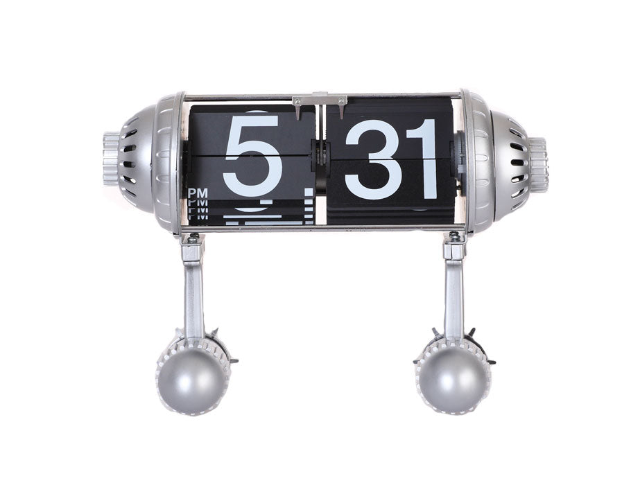 Rocket Flip Desktop Clock