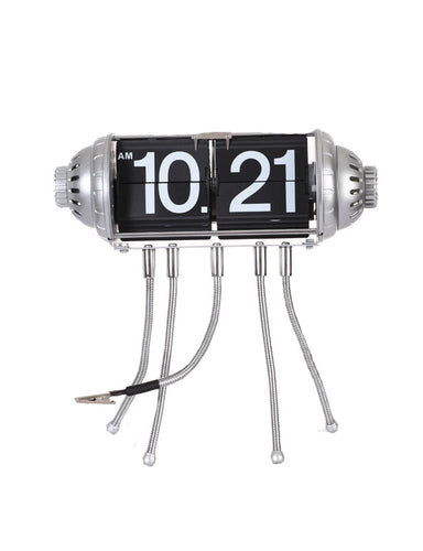Maple's Table Flip Clock Flexible Legs and Clip