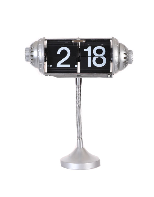 Maple's Table Flip Clock Flexible Goose Neck Stand