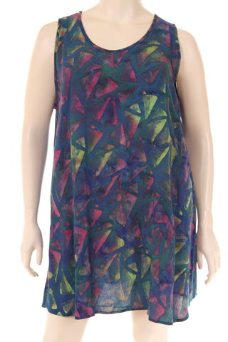 AC1777T Top U neck sleeveless