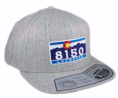 8150 C One Ten Snapback HEATHER GREY