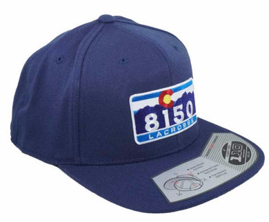 8150 C One Ten Snapback NAVY