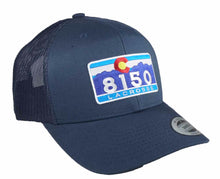 8150 C Retro Trucker Snapback NAVY