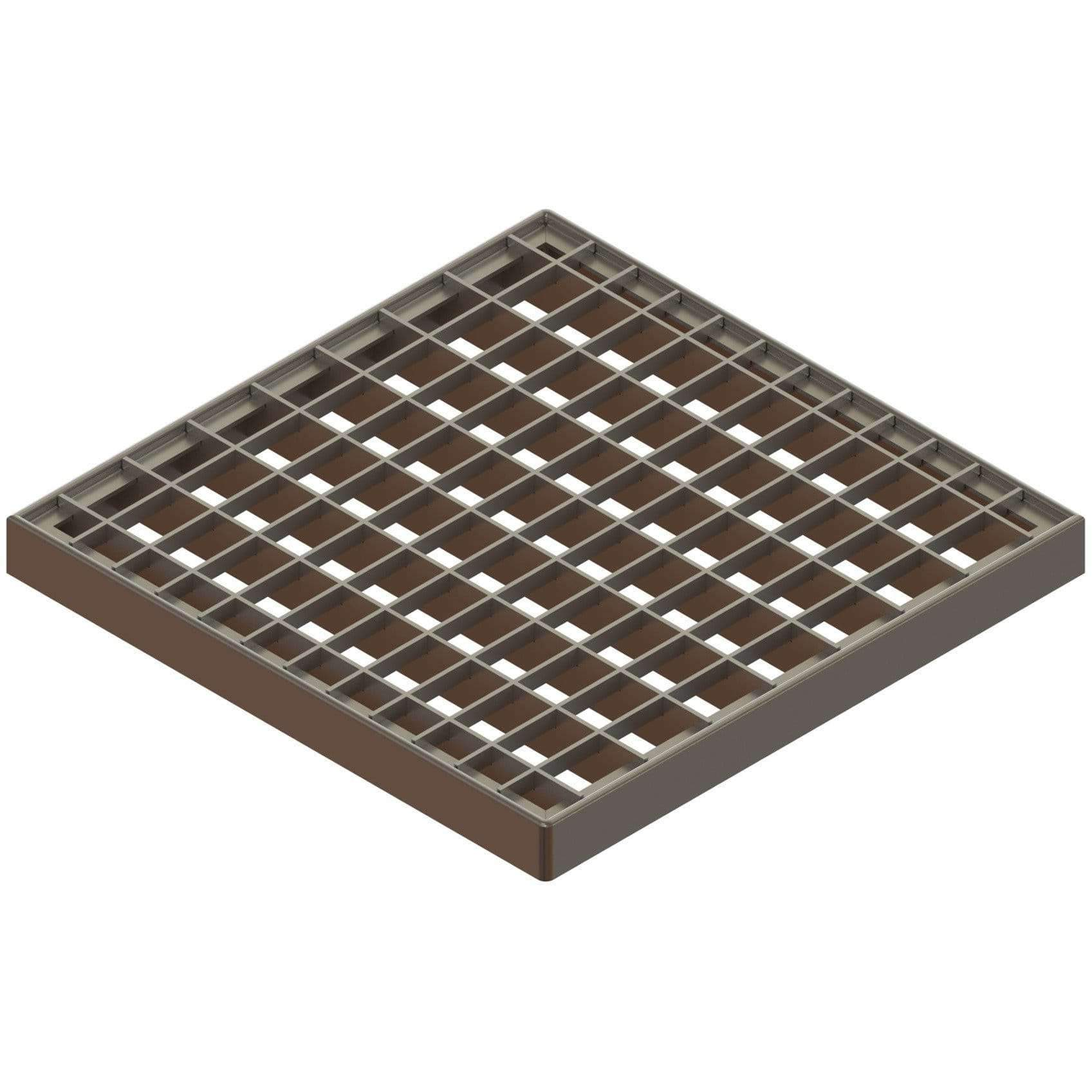 12x12 Galvanized Stamped Steel Grate Gratings Standartpark