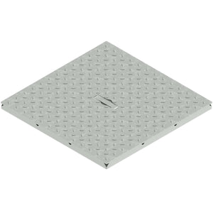 16x16 Galvanized Closed Grate