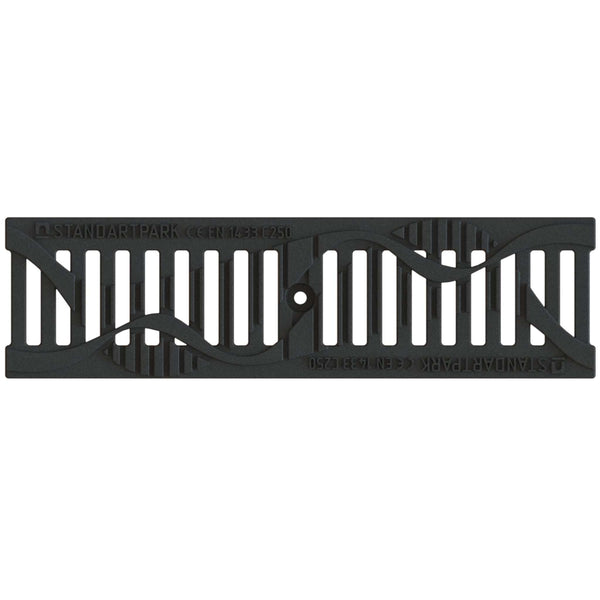 "4"" Cast Iron WAVE Grate"
