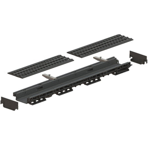 "4"" Channel Plastic Grating Package"