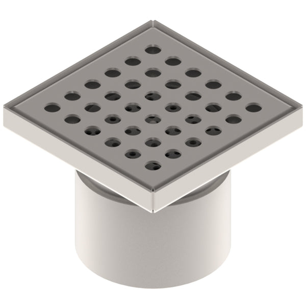 "6"" Stainless Steel Floor and Shower Drain"