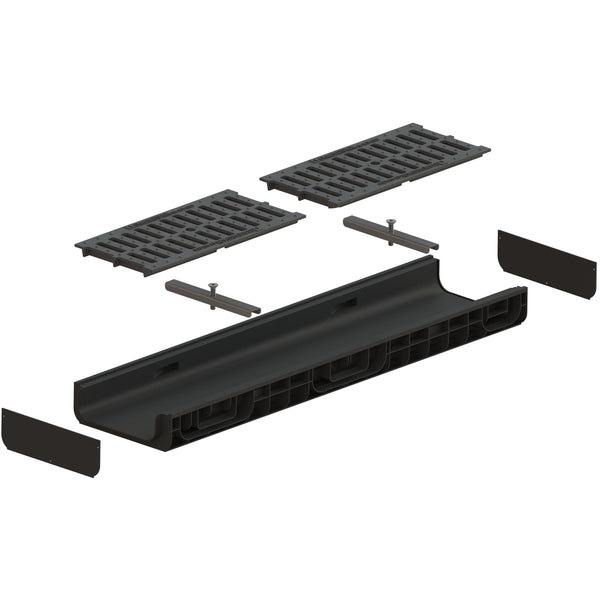 "8"" Channel Cast Iron Slotted Package"
