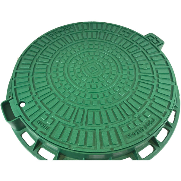 Manhole Cover - Green Logo Design Manhole Covers Standartpark