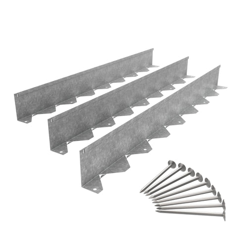 Galvanized Steel Edging System
