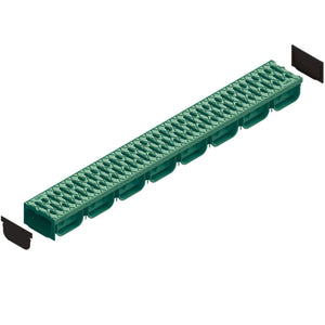 Spark 2 - 4 Inch Channel Green Trench Drain Standartpark 1 Unit