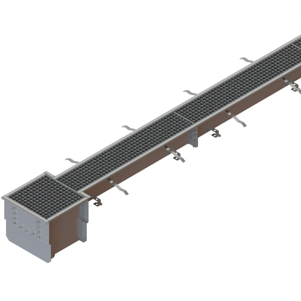 Stainless Steel Pre Slope Channel System 6 Inch - Standartpark