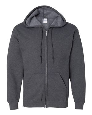 WATT Gildan HeavyBlend Full Zip Hooded Sweatshirt