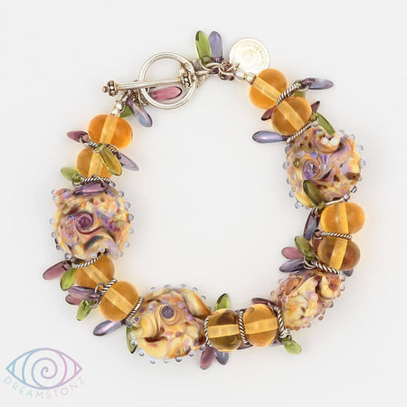 Purple Angel Bracelet