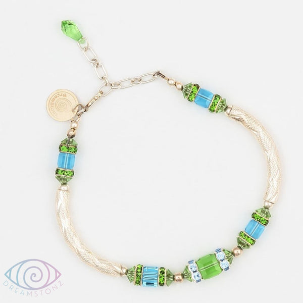 Parenthesis In Green Bracelet - Bracelet