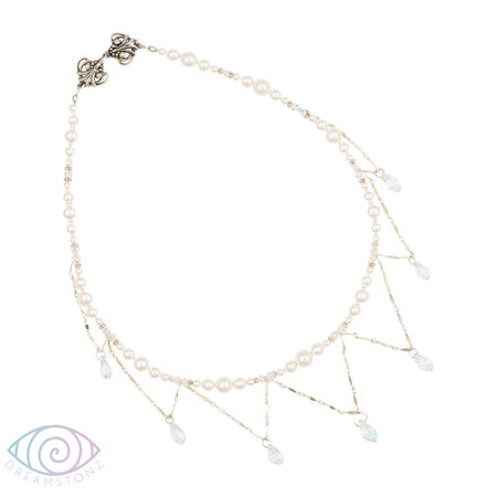Aurora Rose Swarovski Crystal Necklace - Available in several colours!