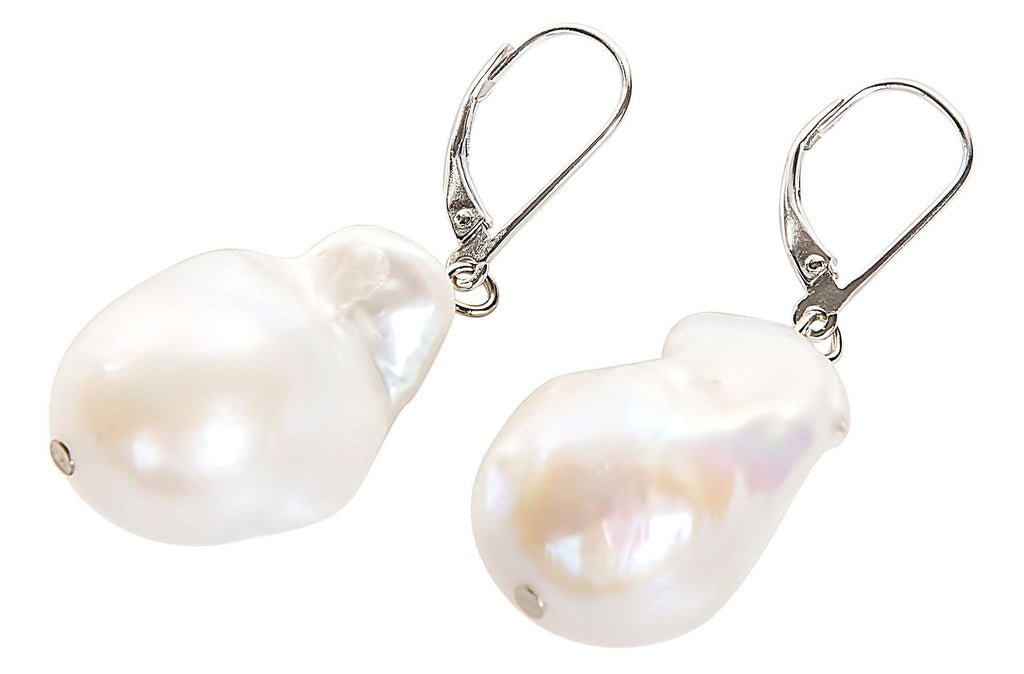 baroque earrings stud products s pearl e grey g bar