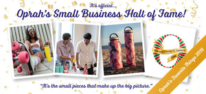 Oprah's Small Business Hall of Fame Winner is Bindle Bottle and featured on Oprah's Favorite Things 2018, Shop Now