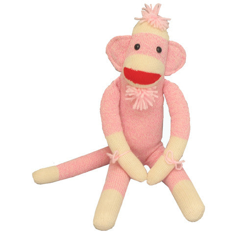 Original Sock Monkey Pink