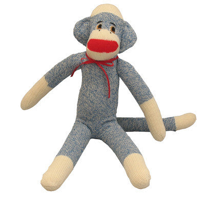 Blue Montey Sock Monkey