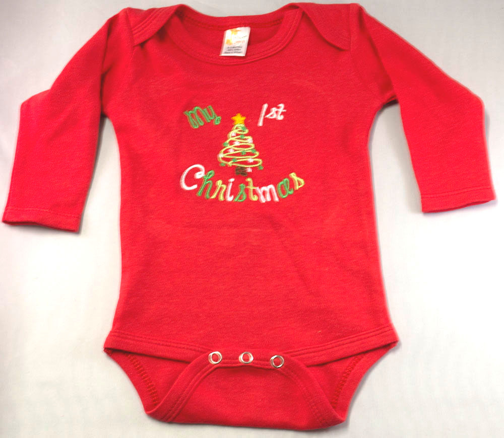 Copy of My First Christmas Onesie