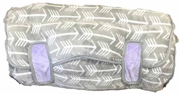 GREY ARROW & LAVENDER NAP MAT