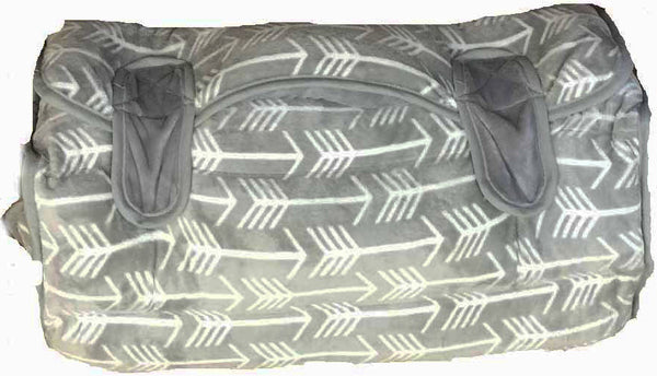 GREY ARROW NAP MAT