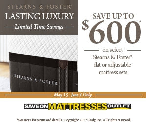 stearns and foster memorial day sale