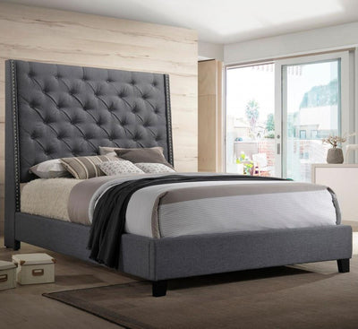 Upholstered Bed 5265 Chantily Bed - Save on Mattresses Outlet