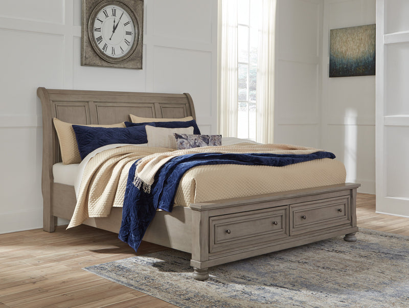Storage King size bed