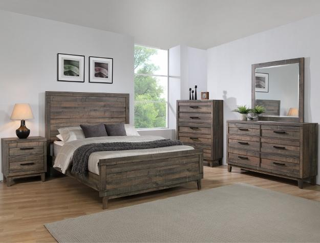KING 5 PC BEDROOM SET