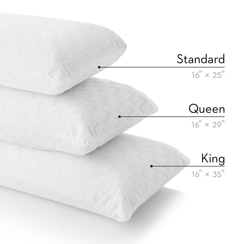 Z Shredded Latex Pillow - Free Shipping (delivery within 4-5 business days) - Save on Mattresses Outlet