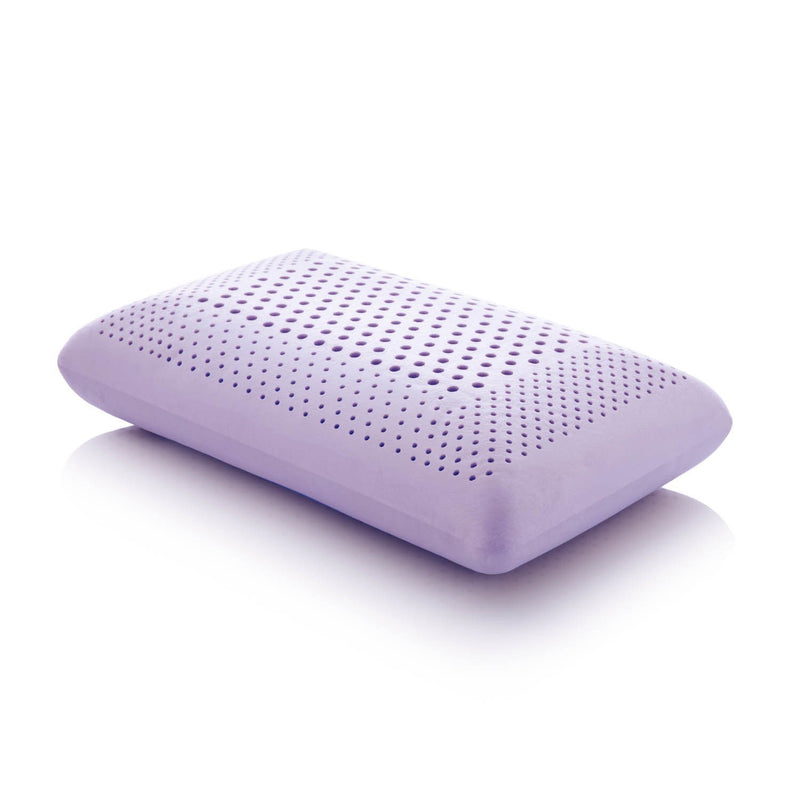 Lavender Memory Foam Pillow - Free Shipping (delivery within 4-5 business days) - Save on Mattresses Outlet