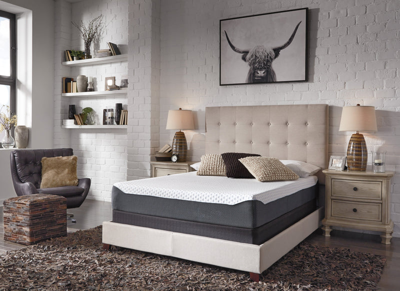 Gel Memory Foam Mattress By Ashley Queen Size - Save on Mattresses Outlet