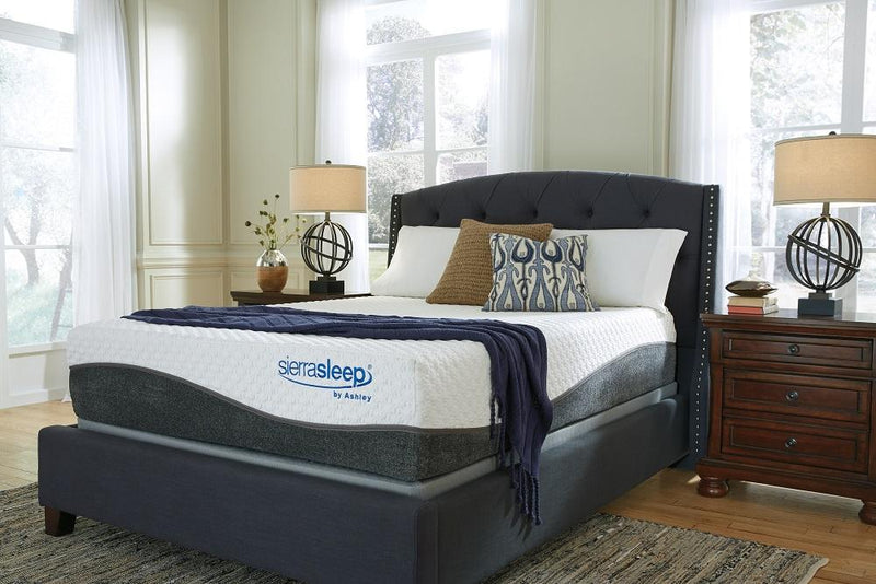Sierra Sleep Hybrid California King Mattress Plush - Save on Mattresses Outlet